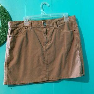 Khaki Gap Skirt